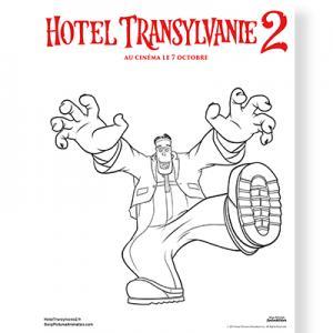 Coloriage de Frank Hôtel Transylvanie 2