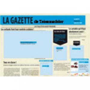 Imprimer la Une de LA GAZETTE de Teteamodeler