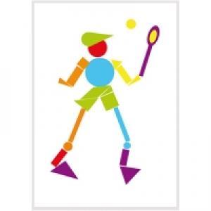 tableau joueur de tennis