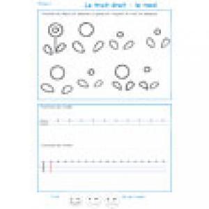Imprimer la page 1 de graphisme sur les traits droits et ronds