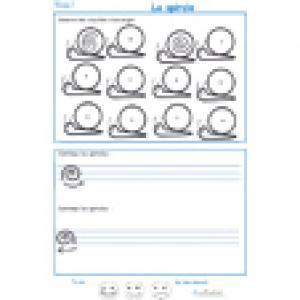Imprimer la page 1 de graphisme sur la spirale