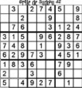 grille 32 de sudoku Primaire cycle 3