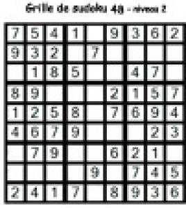 sudoku 48 de niveau 3