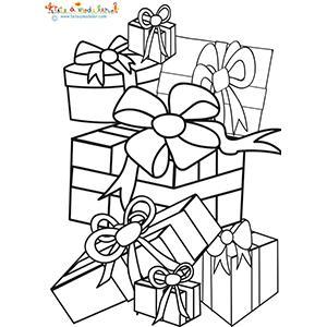 Grosse pile de cadeaux