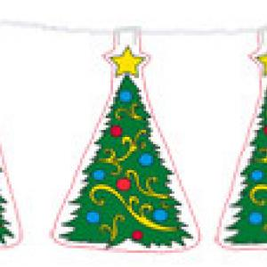 Guirlande sapin de Noël