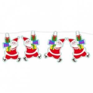 Petite guirlande de Pères Noël