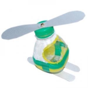 hélicoptère en plastique