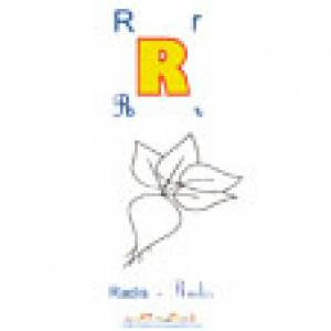 Planche R de l'imagier des majuscules