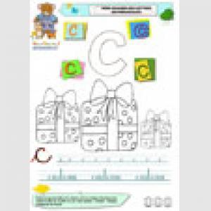Imagier des minuscules : lettre c