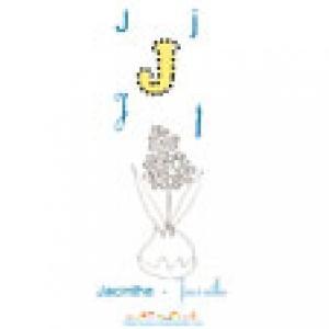 Apprendre et lire le J comme Jacinthe avec l'imagier 2