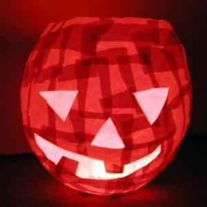 Lampion géant d' Hallowween