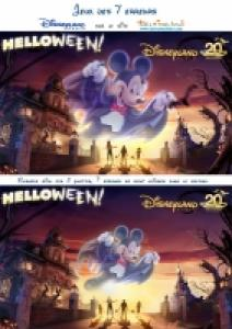 jeu des 7 erreurs halloween à Disneyland Paris