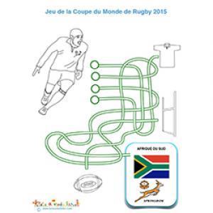 Fils mêlés Afrique du Sud Coupe du Monde de Rugby
