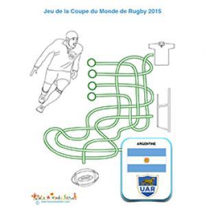 Jeu sur l'Argentine à la coupe du monde de rugby 2015