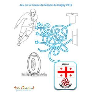 Equipe de rugby de Georgie : jeu de fils mêlés