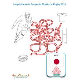 Jeu de fils, rugby et équipe du Japon