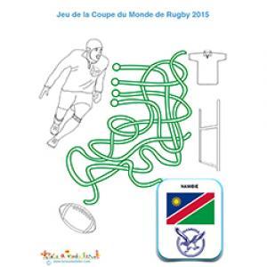 Namibie : jeu de fil sur le rugby