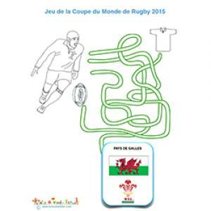 Jeu de fils sur le rugby et le Pays de Galles