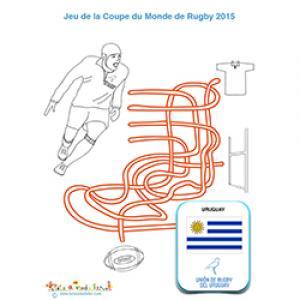 Jeu de fils, rugby et équipe d'Uruguay
