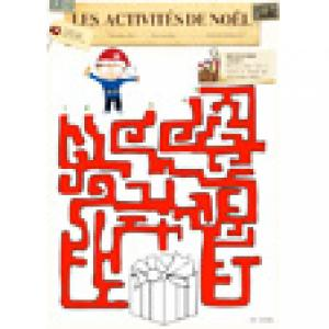 Labyrinthe du cadeau de Noël