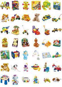 Planches de jouets à imprimer pour la lettre au père noël