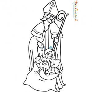 Les jouets de saint Nicolas