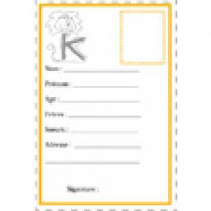 carte d'identité K