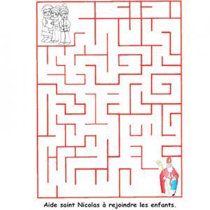 labyrinthe de saint nicolas