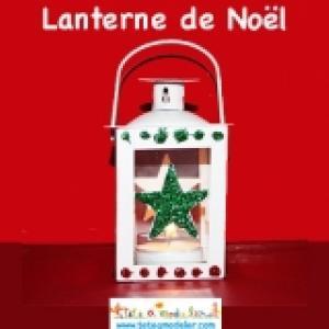 Lanterne en metal de la Box creative Noel