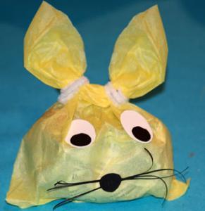 Sachet tête de lapin