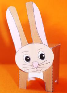 Lapin paper toy