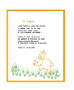Poesie : le lapin