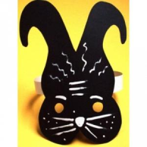 Masque de lapin jungle urbaine