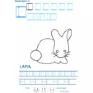 Imprimer la fiche graphisme sur L de LAPIN