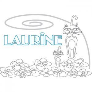 prénom Laurine