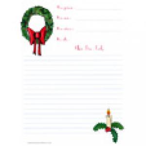 Papier de Noël gratuit avec lignes
