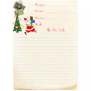 Papier à lettre à ligne à l'ancienne
