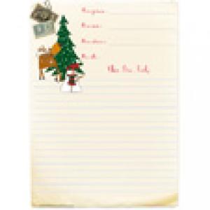 Un papier de Noël à l'ancienne