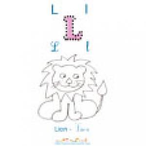 imagier 2 : Apprendre et lire le L comme Lion