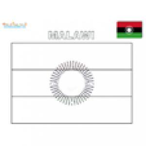 Coloriage du drapeau du malawi