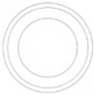 Modèle de mandala vierge à imprimer