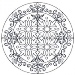 Mandala arabesques anciennes