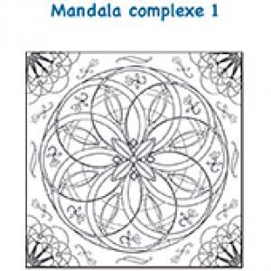 Mandala rosace complexe 1