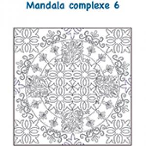 Mandala carreau de décoration