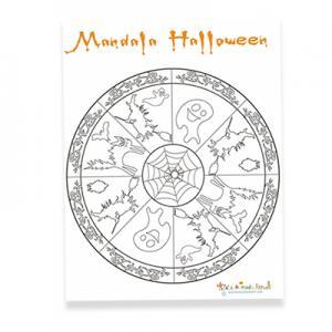 Mandala halloween 1