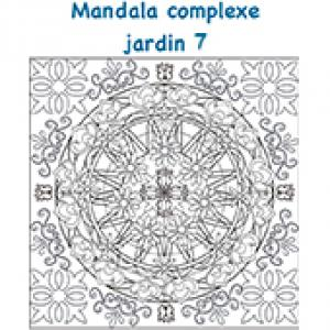 Mandala jardin à petits détails