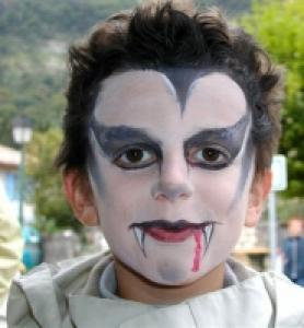 Maquillage de Dracula