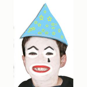 Maquillage clown blanc pour enfant