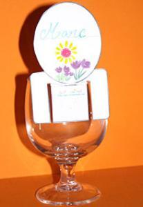 Marque verre marque place