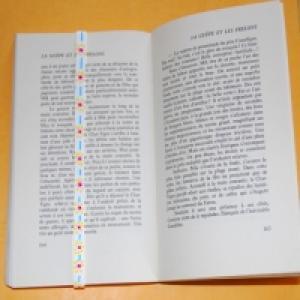Marque page élastique